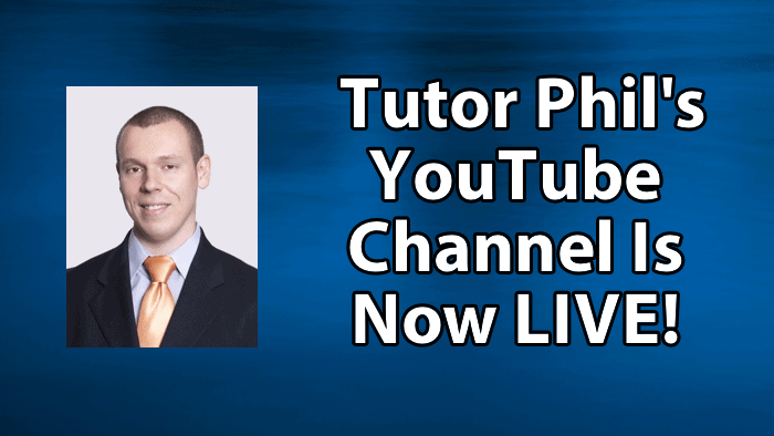 Tutor Phil YouTube Channel